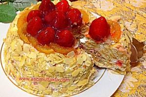 Meyveli Soğuk Pasta