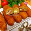Kaşar Peynirli Salamlı Patates Kroket
