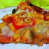 Mantarlı Tavuklu Pizza