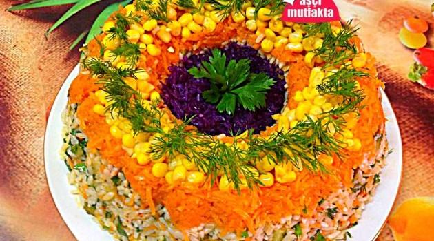 Çin Salatası ( Pirinç Salatası )