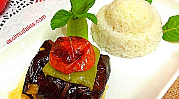 Aşçı Mutfakta Kuşbaşılı İslim Kebabı ( Yağsız )