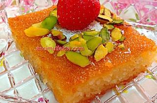 Aşçı Mutfakta Revani Tarifi