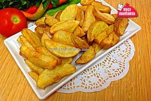 Elma Dilimli Patates Kızartması
