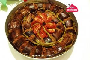 Fırında Patlıcan Kebabı ( Antep )