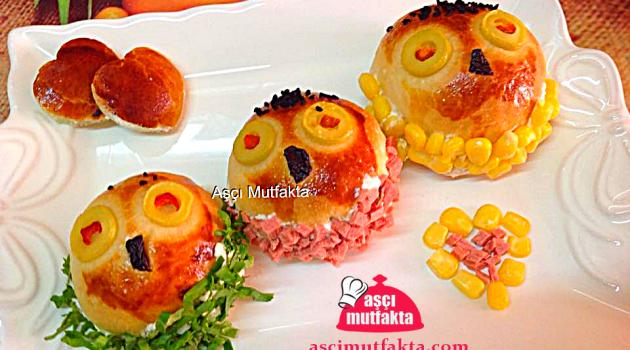 Aşçı Mutfakta Sevimli Sandviçler