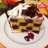 Aşçı Mutfakta Damalı Pasta Tarifi