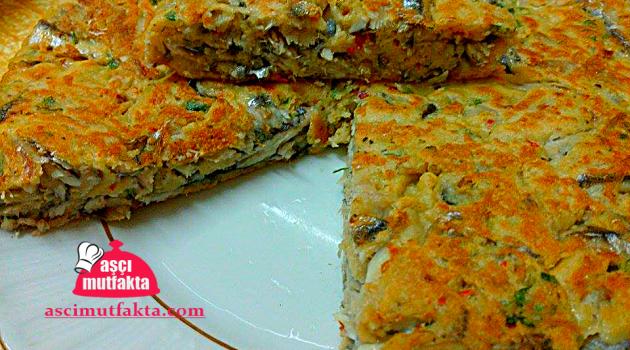 Tavada Hamsi Mücveri ( Kek tadında )