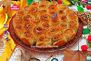 Haşhaşlı Rulo Çörek Tarifi