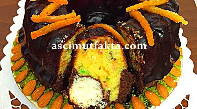 Aşçı Mutfakta Portakal Aromalı Sürpriz Kek