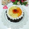 Meyveli Çikolatalı Pasta ( 8-10 kişilik )