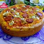 Aşçı Mutfakta Mega Pizza ( Üç katlı )